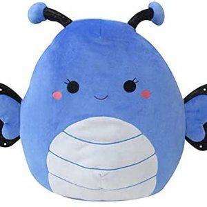 """NEW Squishmallows 16"""" Willa The Butterfly 2020 Canadian Exclusive Stuffed Toy"""